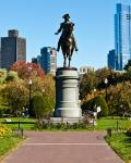 Statuen af George Washington i Boston