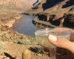 Champagne i Grand Canyon