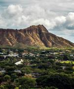 Diamond Head på Hawaiis ø Oahu